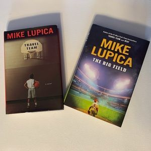 Other - Mike Lupica Travel Team & The Big Field Books